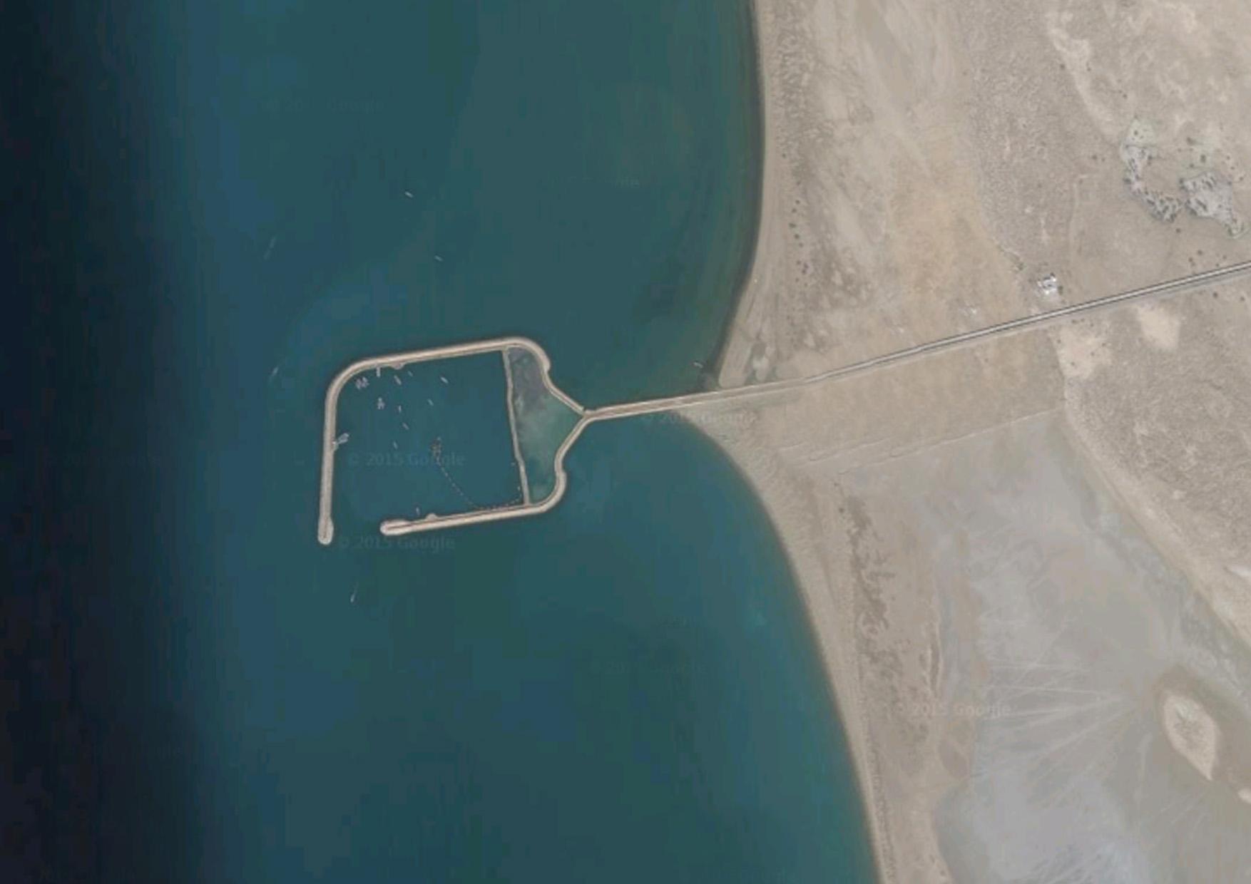 Kouh-Mobarak Fishery Port
